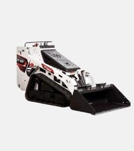 Image depicts a Bobcat MT100 mini track loader