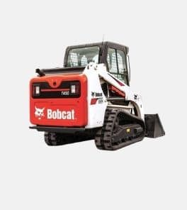 Image depicts a Bobcat T450 track loader